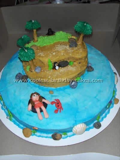 insel kuchen coolest island shaped cakes