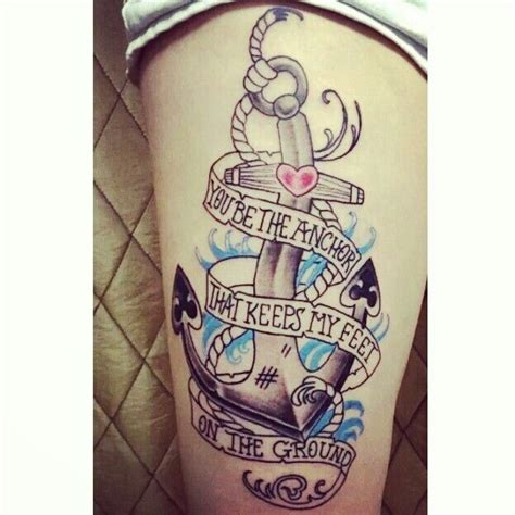 anchor thigh tattoo 25 best ideas about anchor thigh on