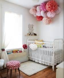 Nursery Decorations Pom Poms Used In Nursery Decor