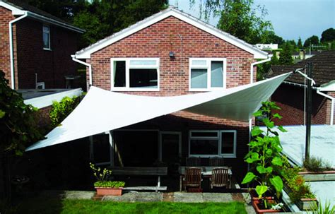 backyard sail canopy shade sails custom made to the highest specification by cunninghams