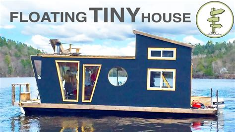 living on a tiny boat living on a 4 season houseboat beautiful floating tiny