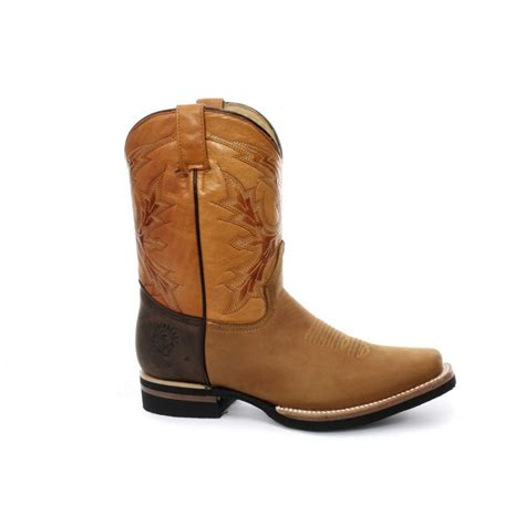 grinders el paso cowboy boot brown