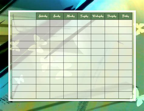 create your own diagram 10 best images of make a chore chart how to make a chore
