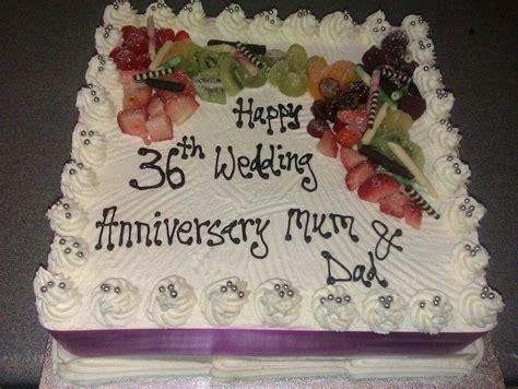 36th Anniversary   ANNIVERSARY CAKES   Cake, Anniversary