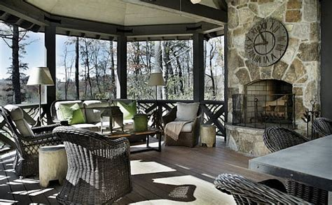exclusive home interiors refined rustic living country chic mountain retreat
