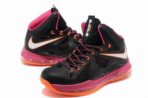 lebron shoes 10 pink imechanica
