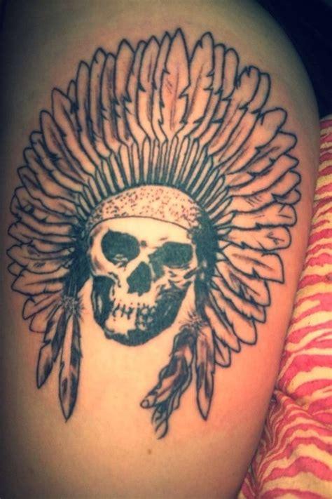 skull thigh tattoos skull thigh tattoos