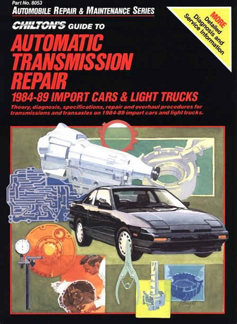books about cars and how they work 1984 lincoln town car windshield wipe control 1984 1989 chilton s guide to automatic trans repair import cars light trucks