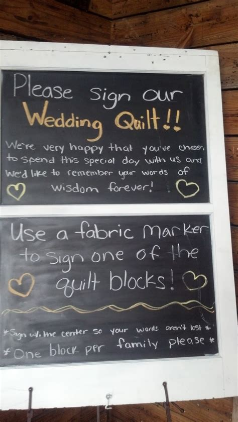 Wedding Quilt Sign by 25 Best Ideas About Quilt Guest Books On