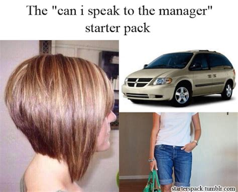 how can i get my hair ut like tina feys 15 funniest quot starter pack quot memes on the internet socawlege