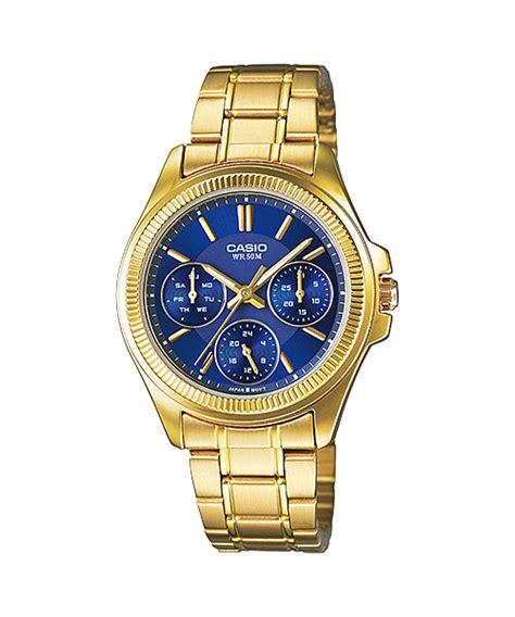 Casio Analog Ltp 1372l 2avdf Blue Withe march 2015 collection gold ltp e304gb 2av blue ltp e304gbl 2av