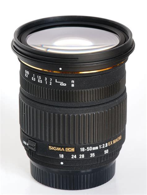 Sigma 50mm sigma 18 50mm f 2 8 ex dc macro lens