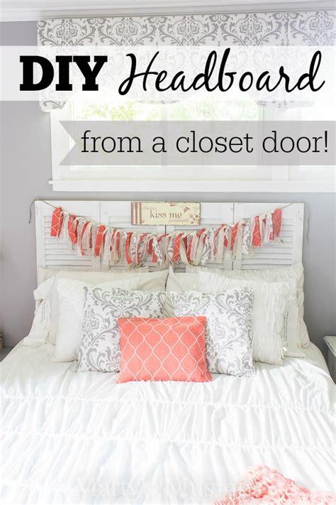 Master Bedroom Decor Ideas diy headboard