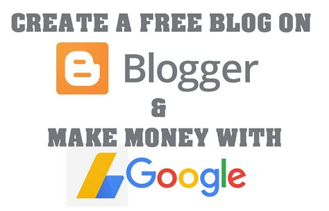 How To Make Online Money For Free - how to create a free blog on blogspot make money online