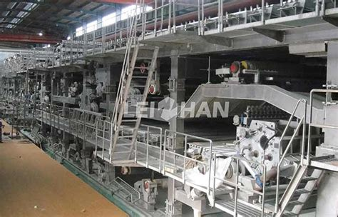 Paper Machinery - kraft testliner paper machine