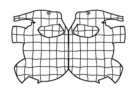 Template Of Elmer The Elephant Bittorrentsmarter Elmer Colouring Pages
