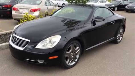 used lexus coupe pre owned black 2007 lexus sc 430 2dr coupe hardtop