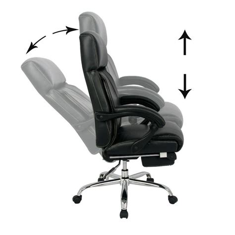 office chair reclining best ergonomic heavy duty office chairs for big people