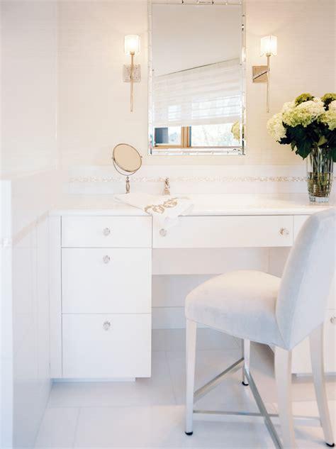 white bathroom table the luxury look of high end bathroom vanities