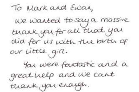 Thank You Letter Hospital Staff Ambulance Service Letters Of Thanks