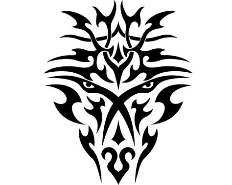 dragon face tattoo designs tribal wallpapers pictures images