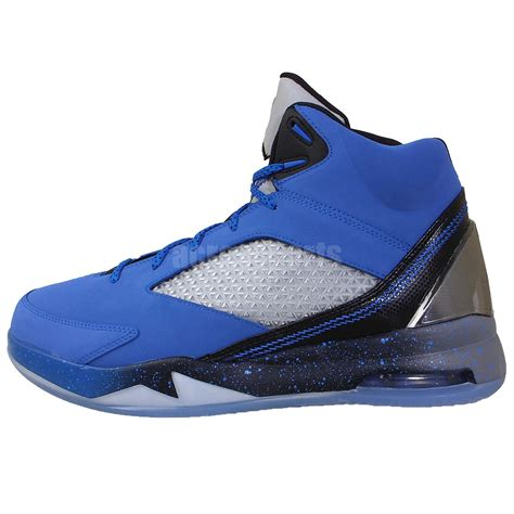 future basketball shoes nike air flight remix blue black 2014 mens
