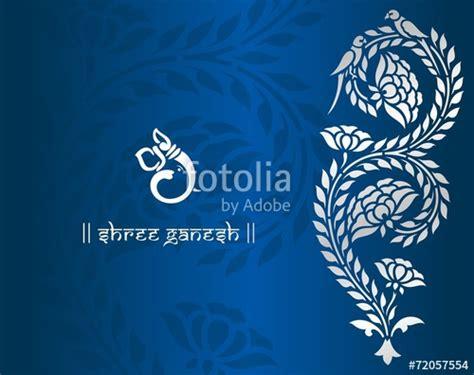 Ganesha Vector For Wedding Cards
