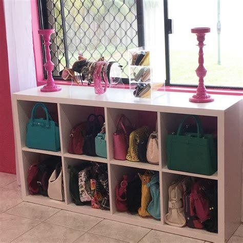 ikea hack handbag storage for the home handbag