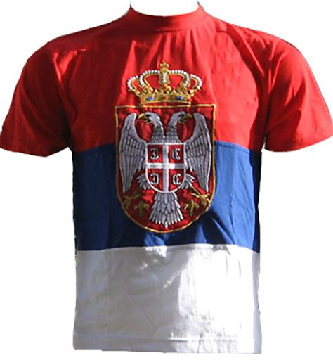 Tshirt Kaos Ovoko quot serbian flag quot t shirt small serbian shop