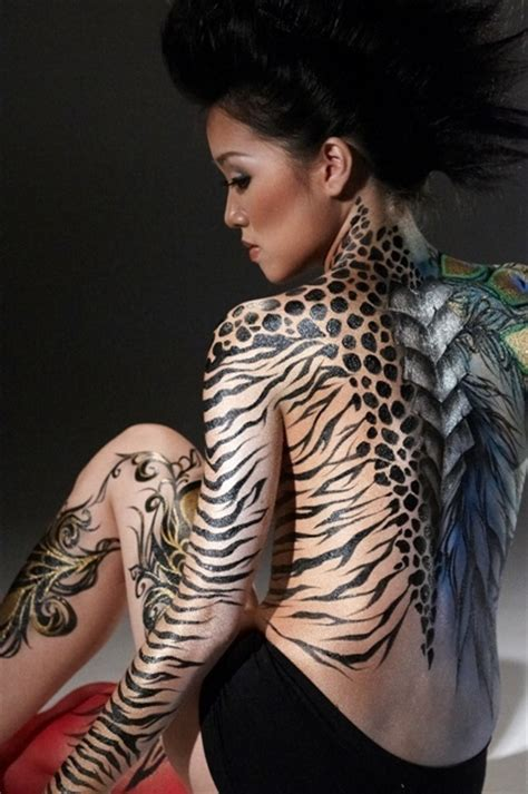 animal print tattoos ideas of animal tattoos for
