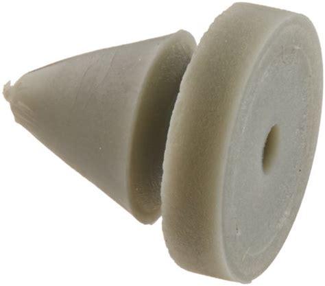 Don Jo 1608 Rubber Door Silencer, Gray, For Metal Frame