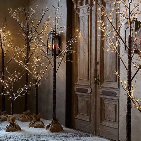 lighted tree home decor home dzine home decor sustainable christmas trees from