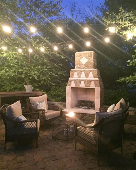 hanging string lights in backyard how to hang outdoor string lights from thrifty decor