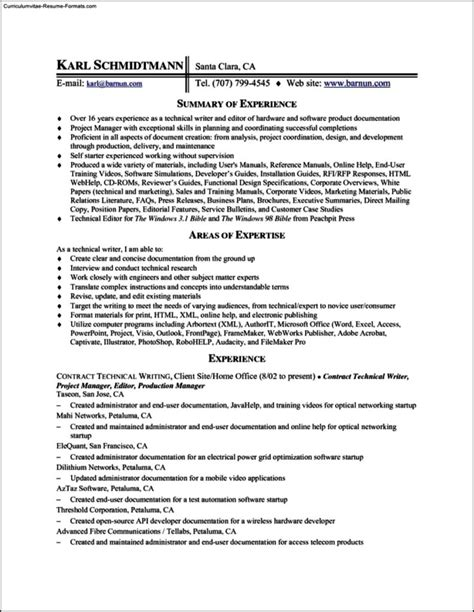 Resume Template Editor by Editor Resume Template Free Sles Exles