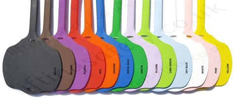 color tag colour coding rubber tags for asset identification