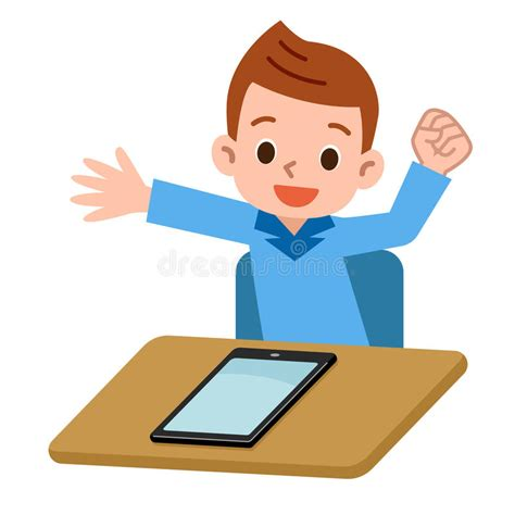 imagenes de niños jugando tablet children playing in the tablet pc stock vector
