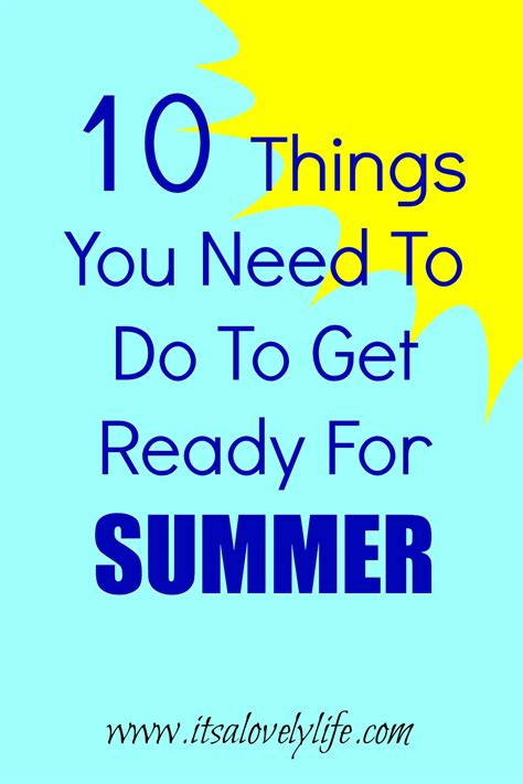 10 Things To Do To Get Ready For by It S A Lovely Family And Family Travel With The