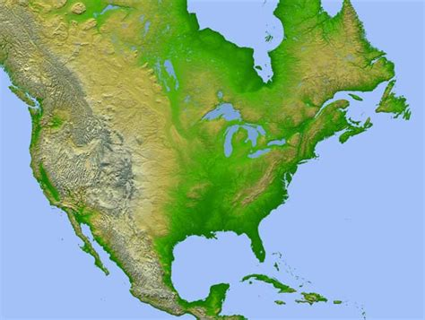 america topographic map jpl news release nasa s newest maps reveal a continent s