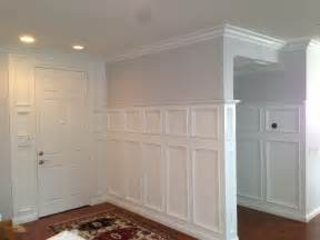 Wainscoting comes in a wide variety of shapes sizes and styles from