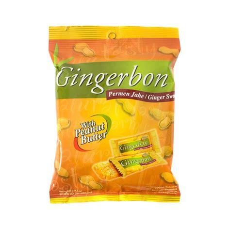 Permen Jahe Gingerbon jual bon peanut butter bag 20x31 pcs pack