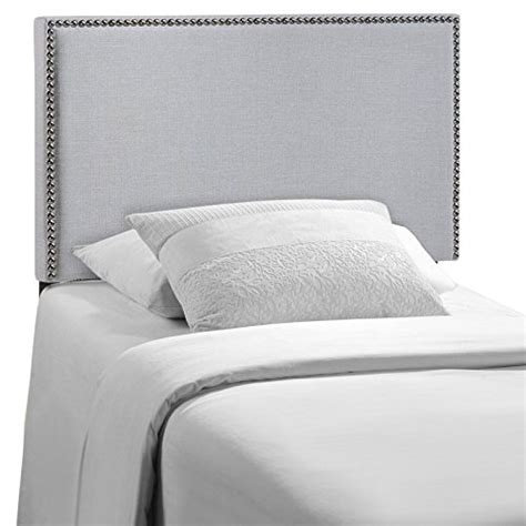 modway region upholstered linen headboard size with