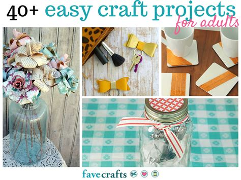 craft projects 44 easy craft projects for adults favecrafts