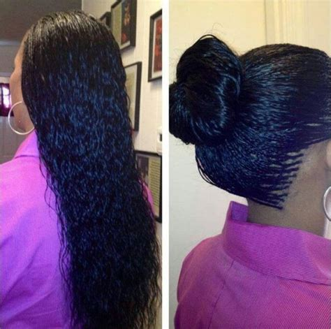 perfect vacation hairstyle for black women love wet wavy braids black hair information community