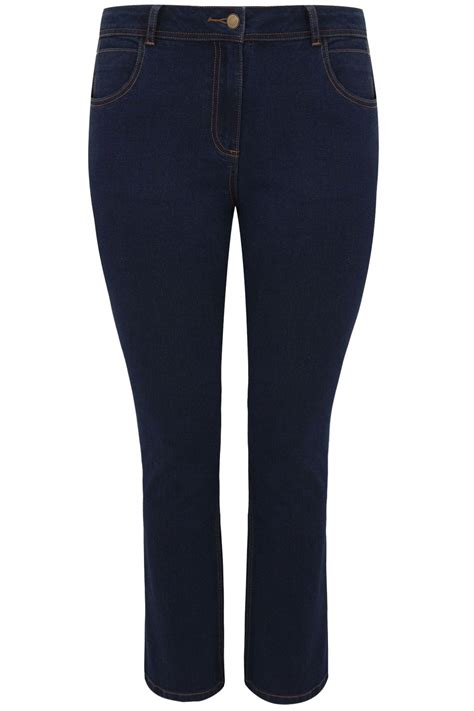 Indigo Check Gift Card Balance - indigo blue straight leg ruby jeans plus size 14 to 36