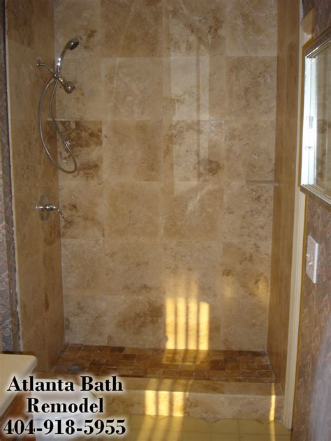 travertine shower ideas atlanta shower remodel travertine shower ideas pictures images