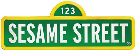 sesame street sign template clipart best
