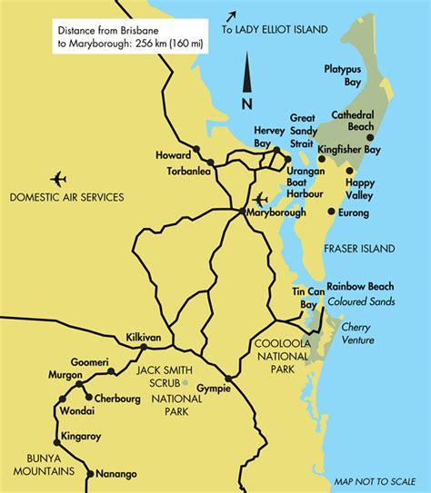 printable map hervey bay australia map hervey bay my blog