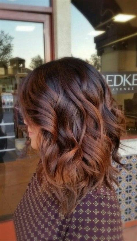 image result for blunt bangs and balayage coiffure coiffures m 232 ches et beaut 233 image result for balayage caramel funking styles m 232 ches caramel cheveux bruns