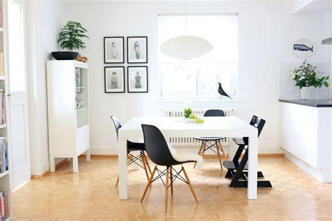buffet tisch für esszimmer bilderwand esszimmer design