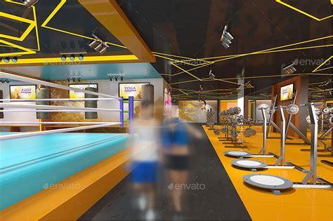 design interior gym fitness gym interior design branding mockups by wutip